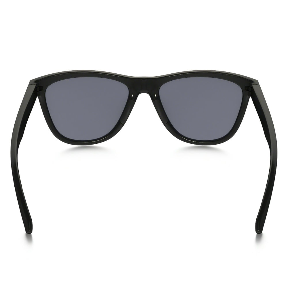OAKLEY Moonlighter Polarized Sunglasses - Blk w/ Grey