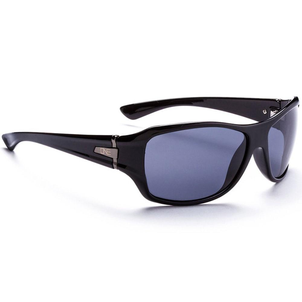 ONE BY OPTIC NERVE Women's Athena Polarized Sunglasses - BLACK