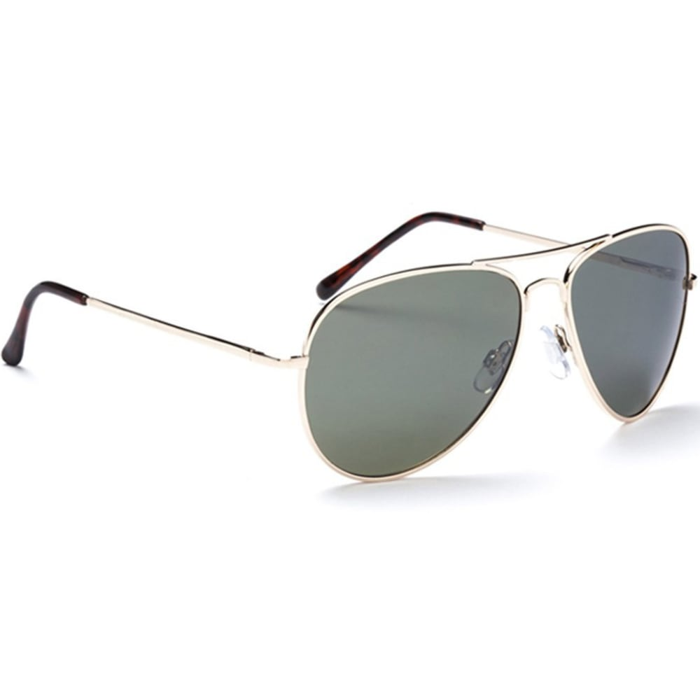 ONE BY OPTIC NERVE Men's Estrada Aviator Sunglasses - GOLD
