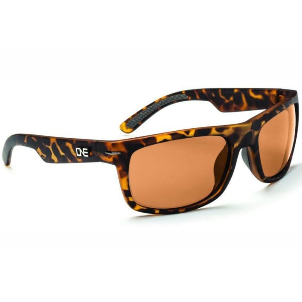 ONE BY OPTIC NERVE Unisex Timberline Sunglasses - DARK DEMI