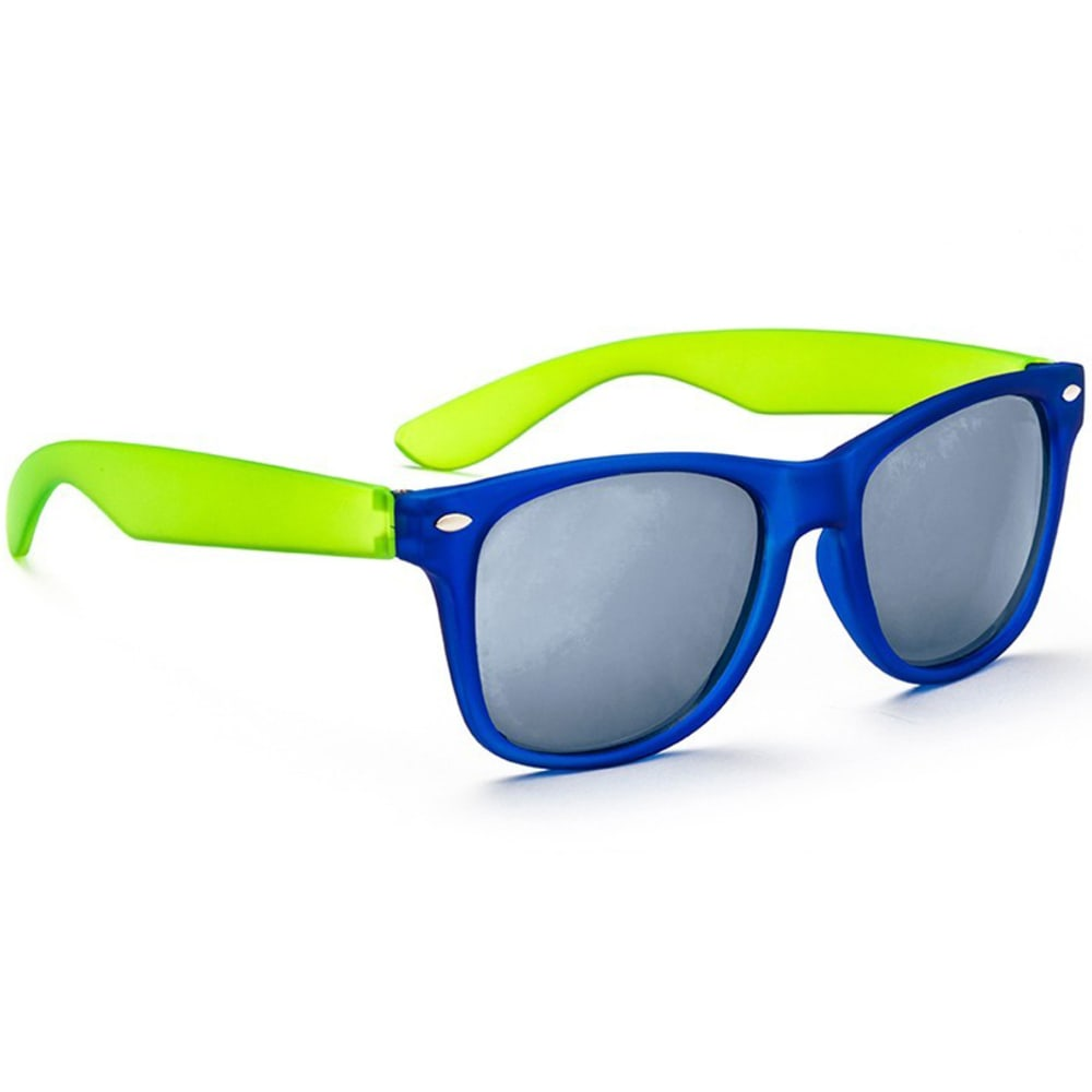 ONE BY OPTIC NERVE Juniors' Boogie Matte Sunglasses - MATTE BLUE