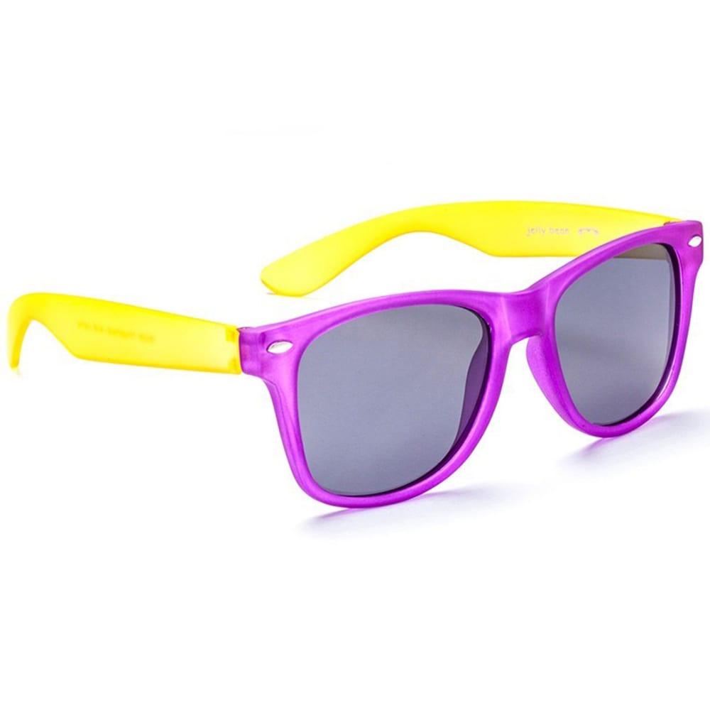 ONE BY OPTIC NERVE Juniors' Boogie Matte Sunglasses - MATTE PURPLE