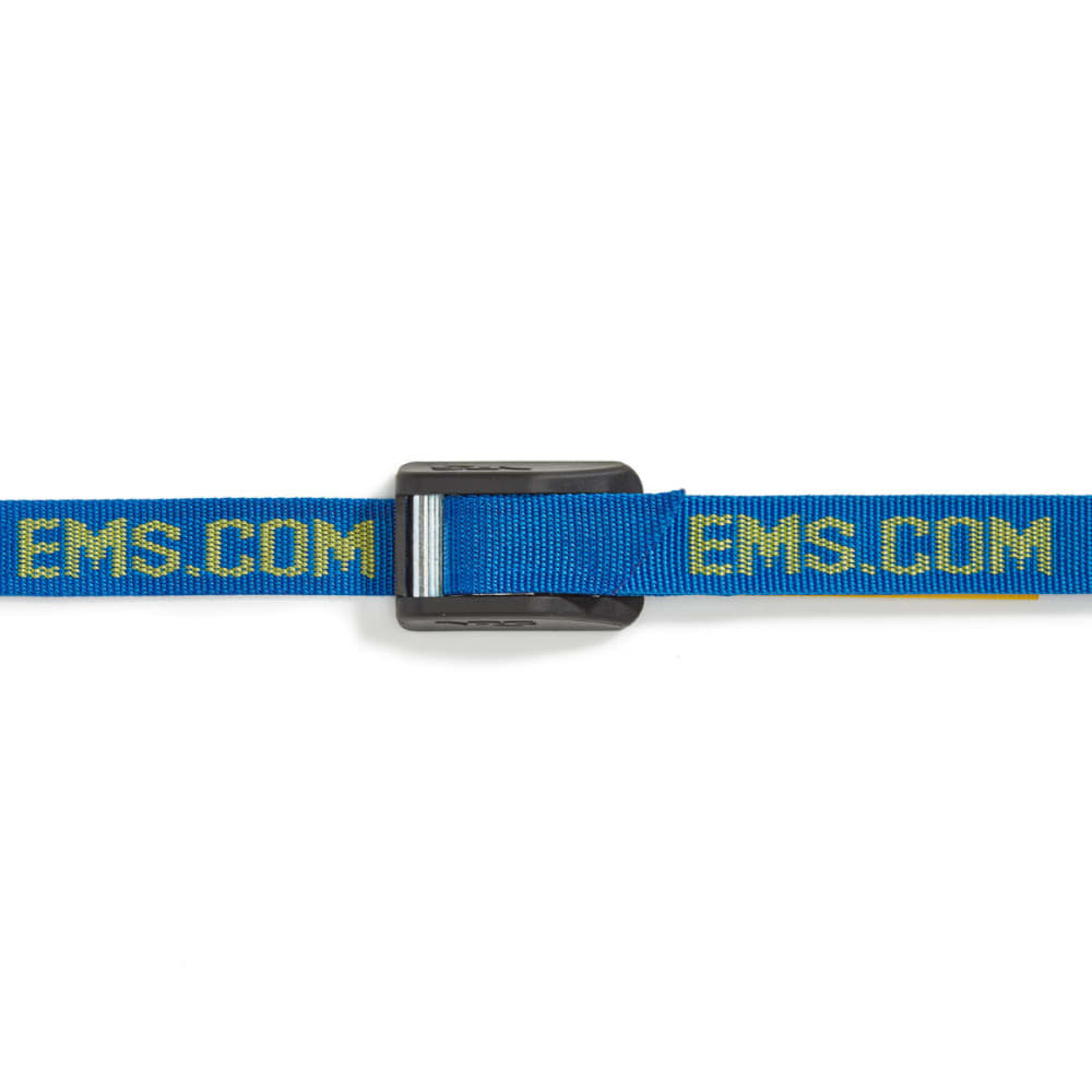 NRS 1 in. Heavy-Duty Buckle Bumper Straps, 9 ft. Pair - BLUE