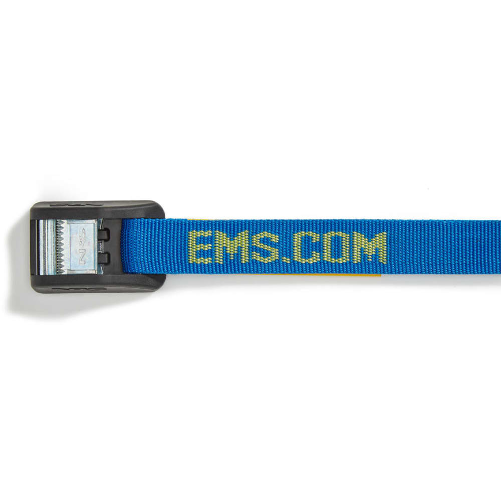 NRS 1 in. HD Buckle Bumper Straps, 12 FT. Pair - BLUE