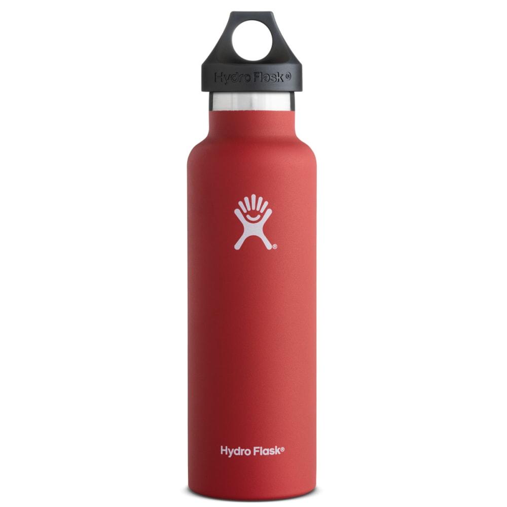 HYDRO FLASK Standard Water Bottle, 21 oz. - LAVA