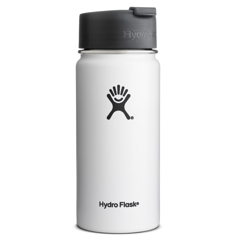 HYDRO FLASK 16 oz. Hydro™ Flip Lid Wide Mouth Bottle - WHITE
