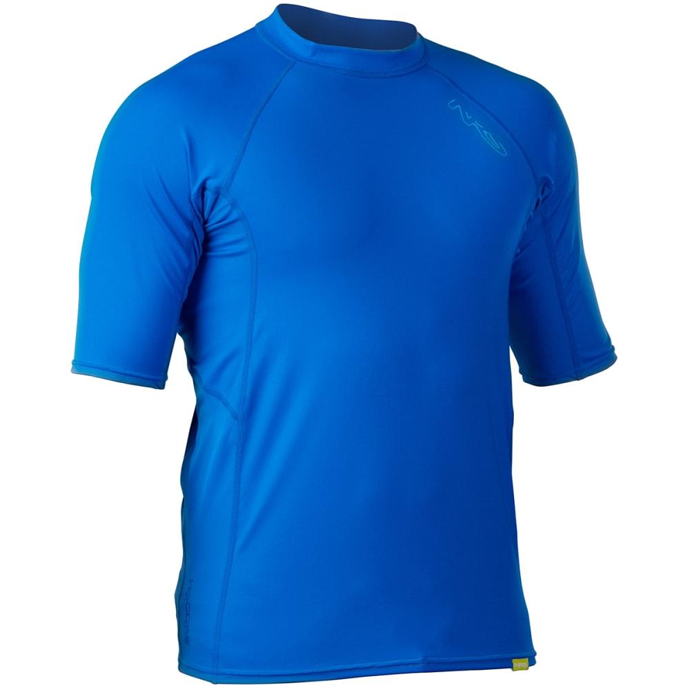 NRS Men's H2Core Short-Sleeve Rashguard - MARINE BLUE