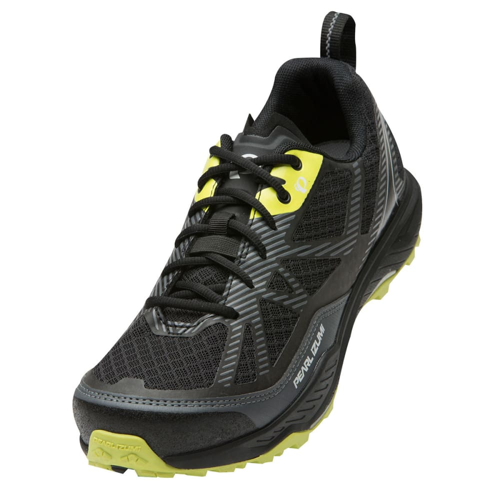 PEARL IZUMI Men's X-Alp Seek VII Shoes - BLACK/SHADOW GREY