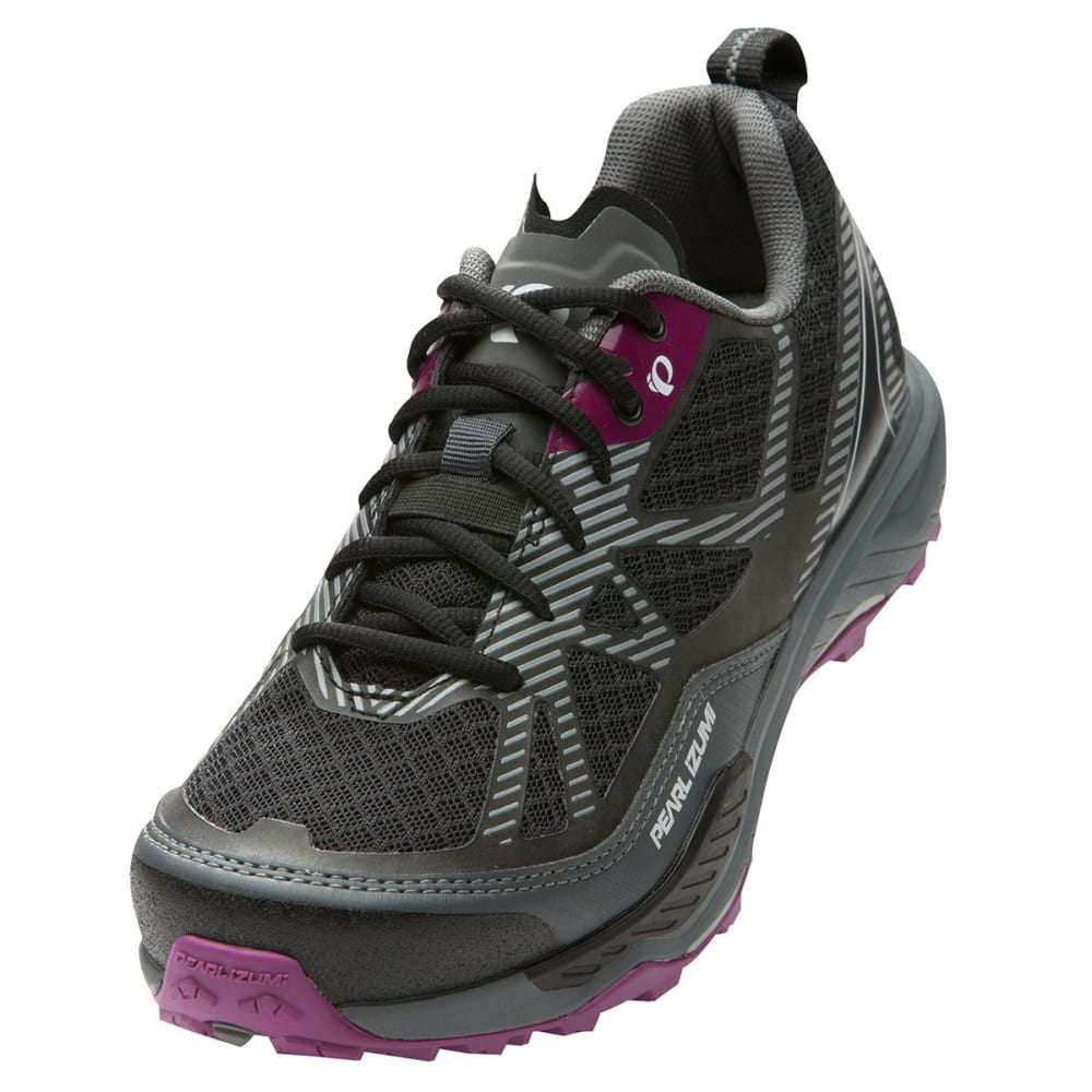 PEARL IZUMI Women's X-Alp Seek VII Shoes - BLACK/BELGIAN BLOCK