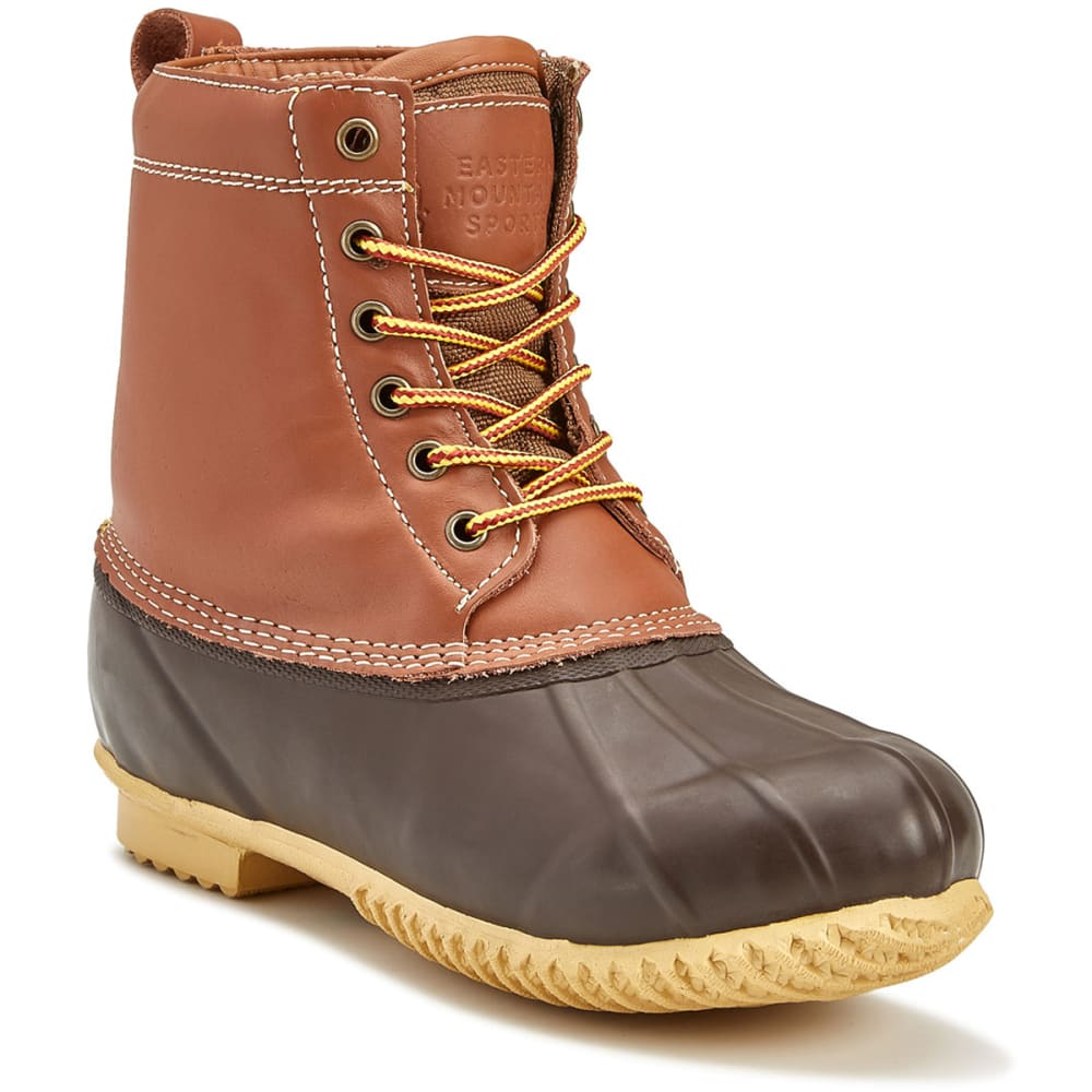 ems 174 men s duck boots brown eastern mountain sports