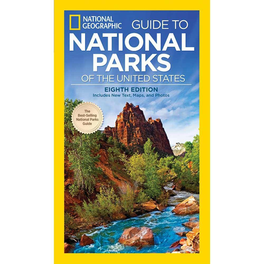 NATIONAL GEOGRAPHIC Guide To The National Parks Of The USA 8th Edition - NO COLOR