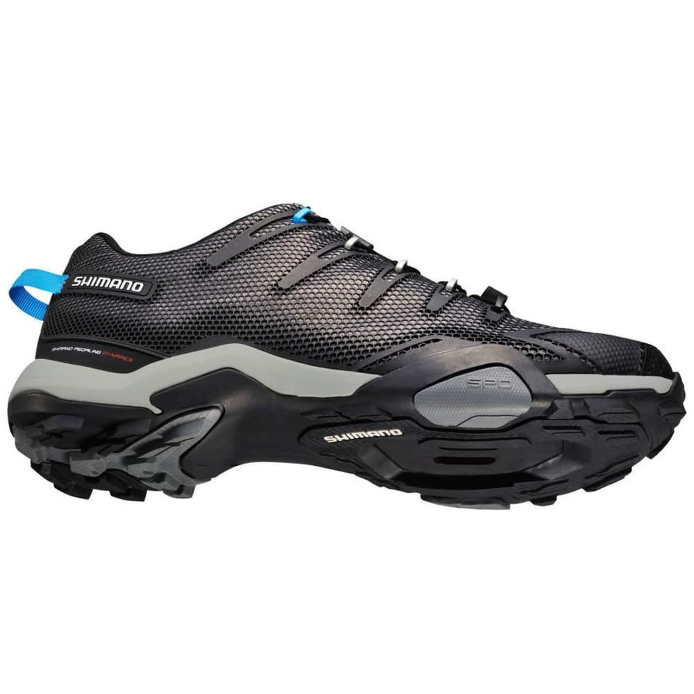 SHIMANO Men's MT44 Mountain Touring Cycling Shoes - BLACK/BLUE