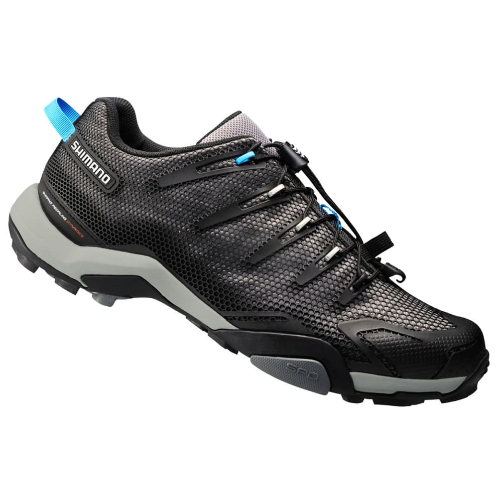 SHIMANO Men's MT44 Mountain Touring Cycling Shoes - BLACK/BLUE
