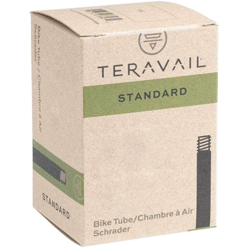 QUALITY BICYCLE PRODUCTS Q Tubes Schrader Valve, 12.5 x 2.25 in. NO SIZE