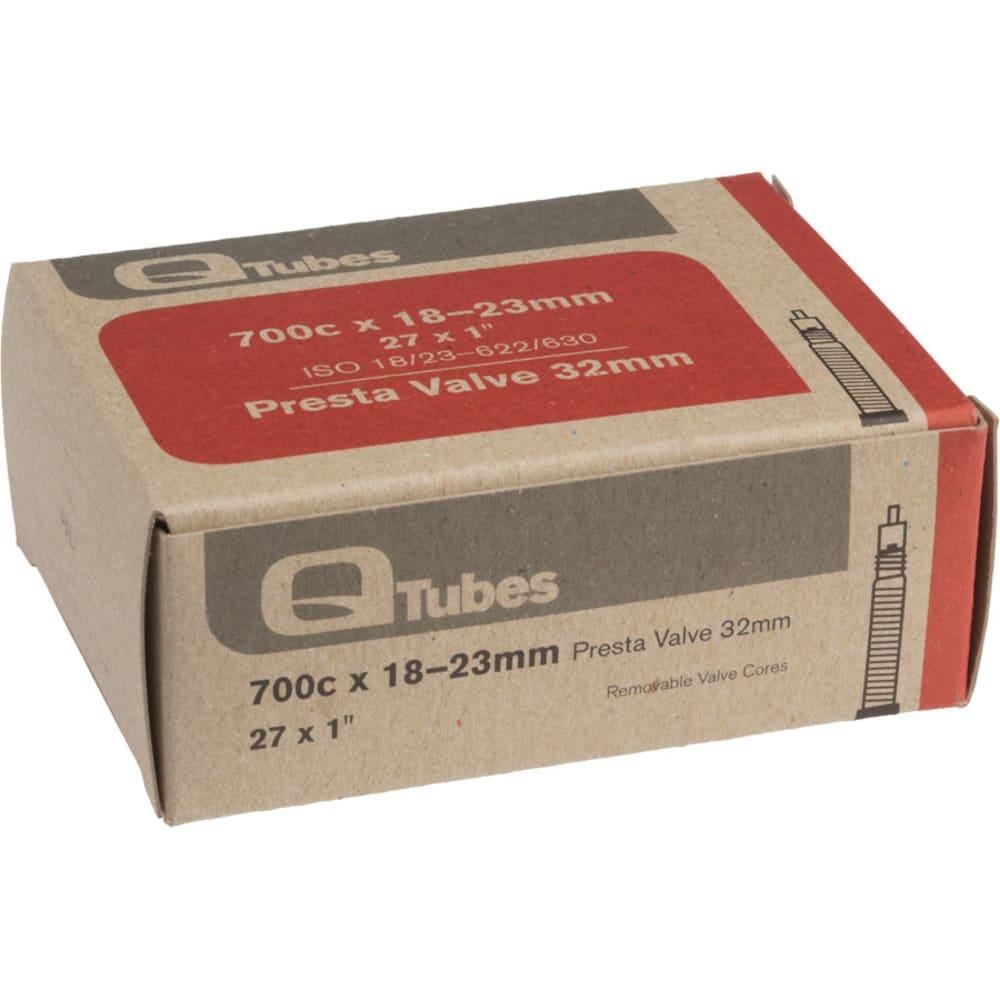Q-TUBES 700c x 18-23mm 32mm Presta Valve Bicycle Tubes - NO COLOR