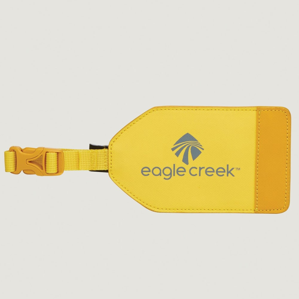 EAGLE CREEK Bi-Tech Luggage Tag - CANARY