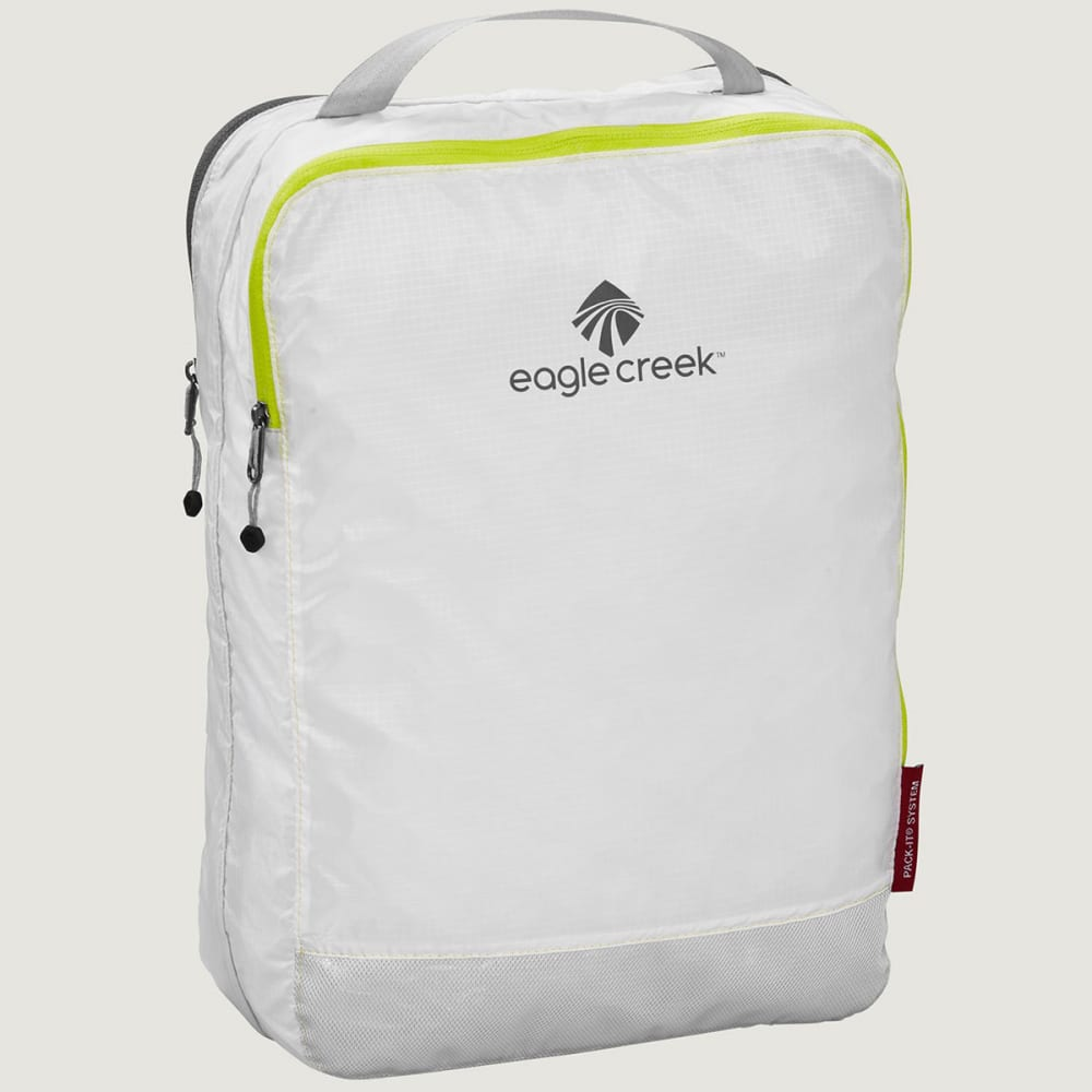 EAGLE CREEK Pack-It Specter™ Clean Dirty Cube - WHITE/STROBE