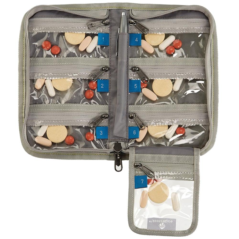 EAGLE CREEK Specter™ 7 Day Pill Organizer - STROBE GREEN
