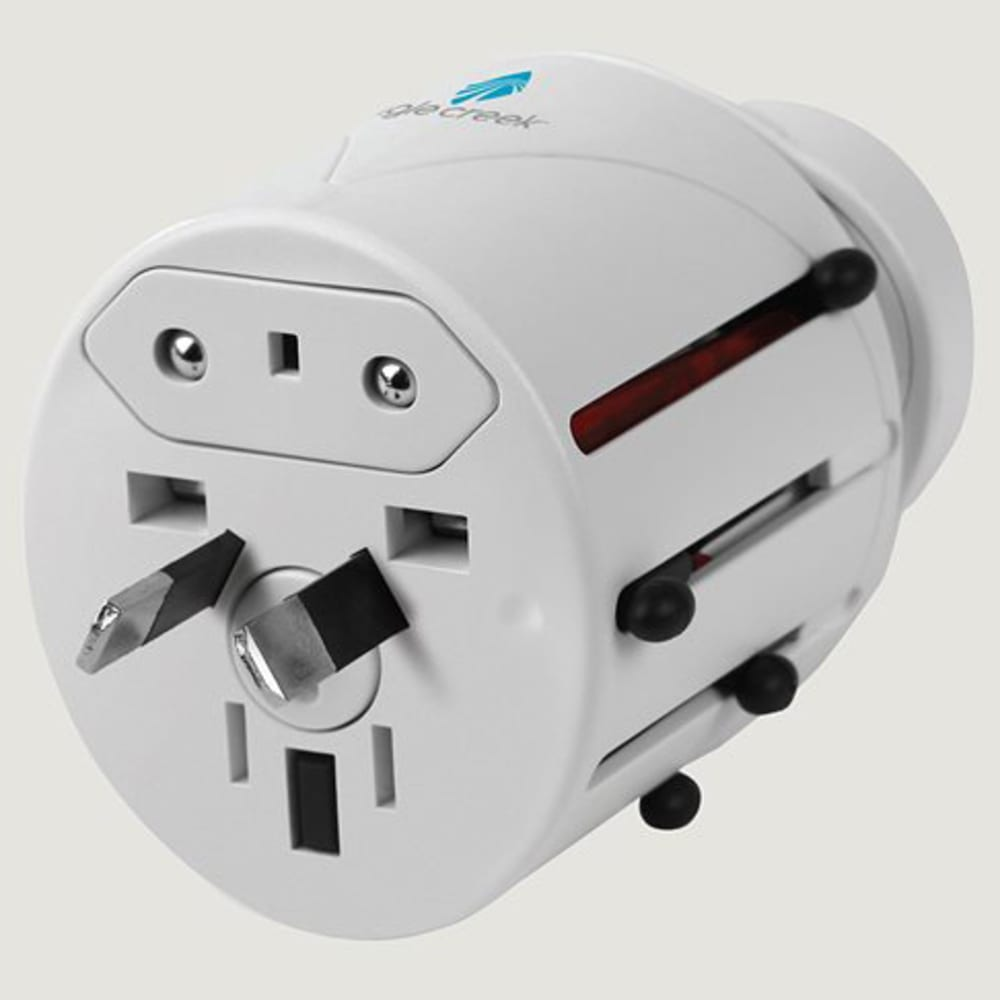 EAGLE CREEK Universal Travel Adapter Pro - WHITE