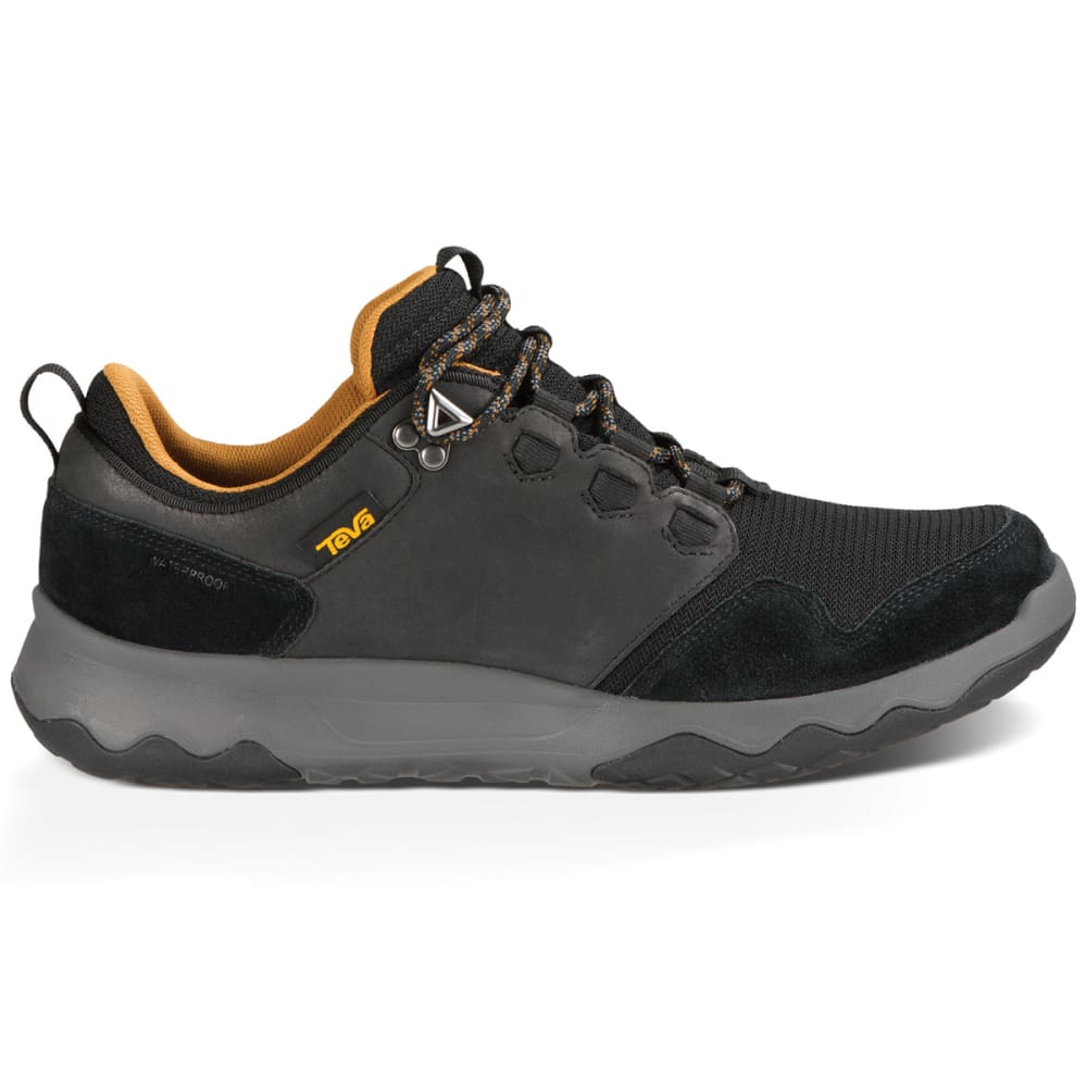 TEVA Men's Arrowood Waterproof Shoes, Black - BLACK