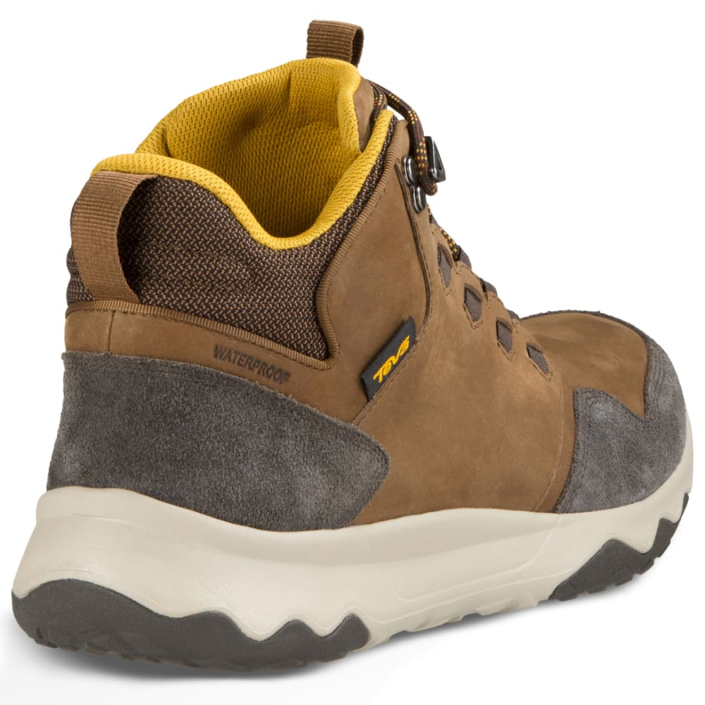 TEVA Men's Arrowood Lux Mid Waterproof Chukka Boots, Brown - BROWN