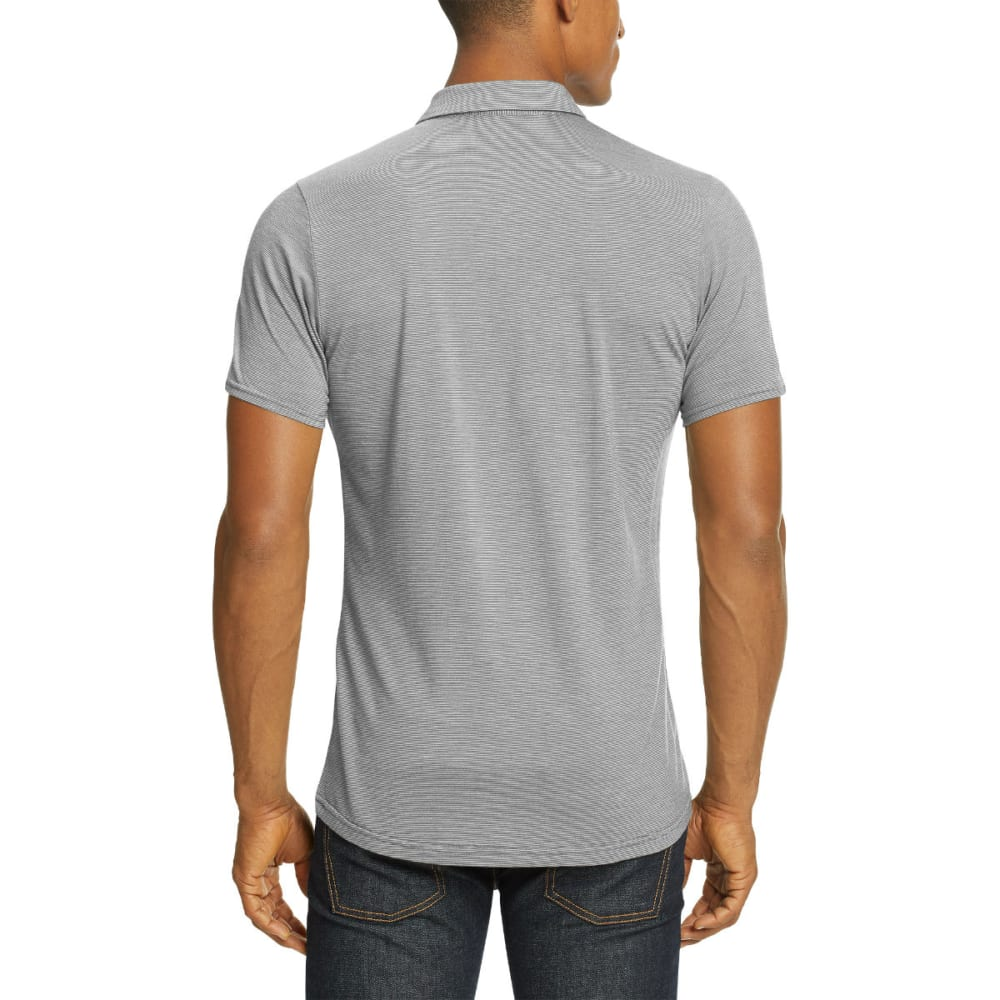 NAU Men's M2 Short-Sleeve Snap Polo - CAPE STRIPE