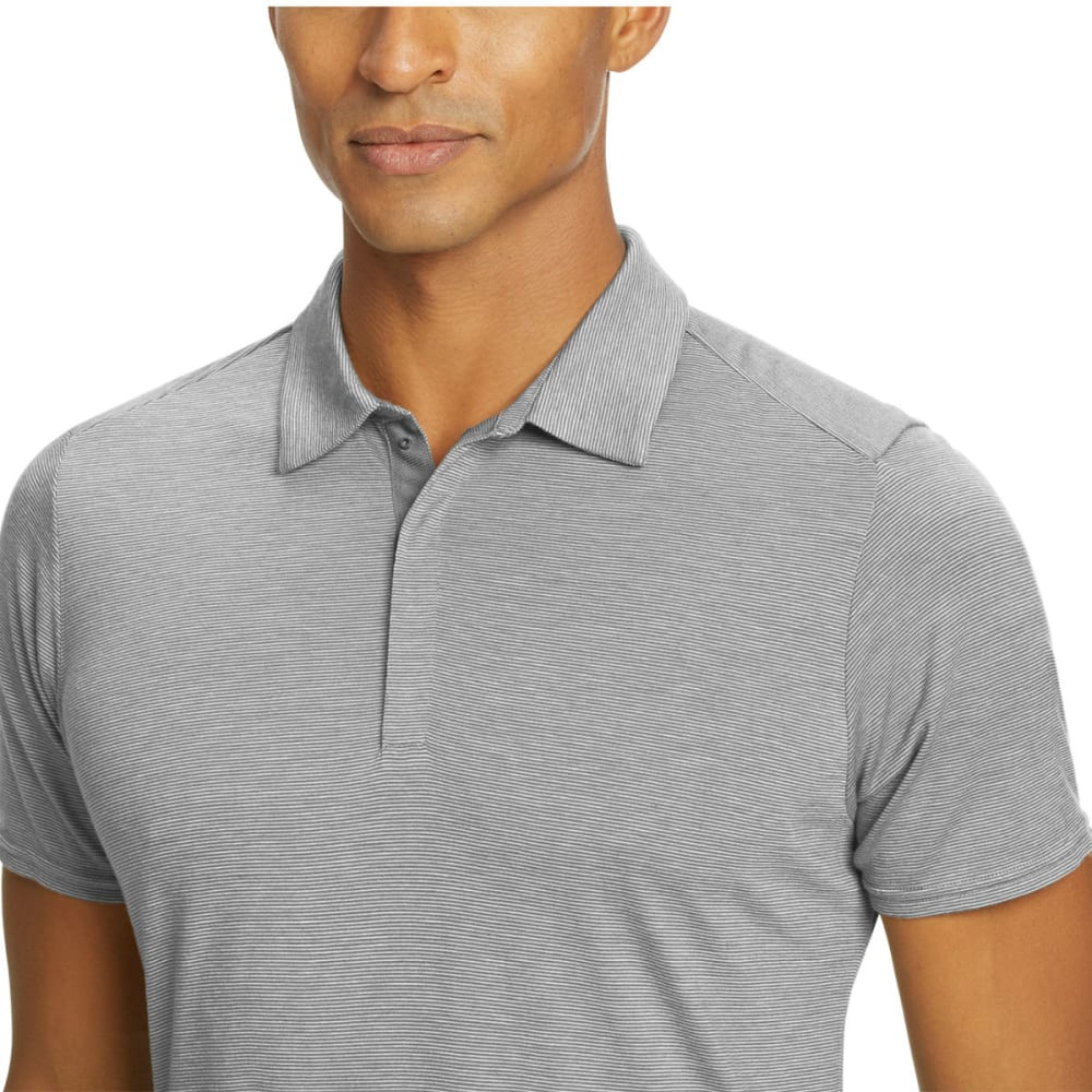 NAU Men's M2 Short-Sleeve Snap Polo - CAPE STRIPE