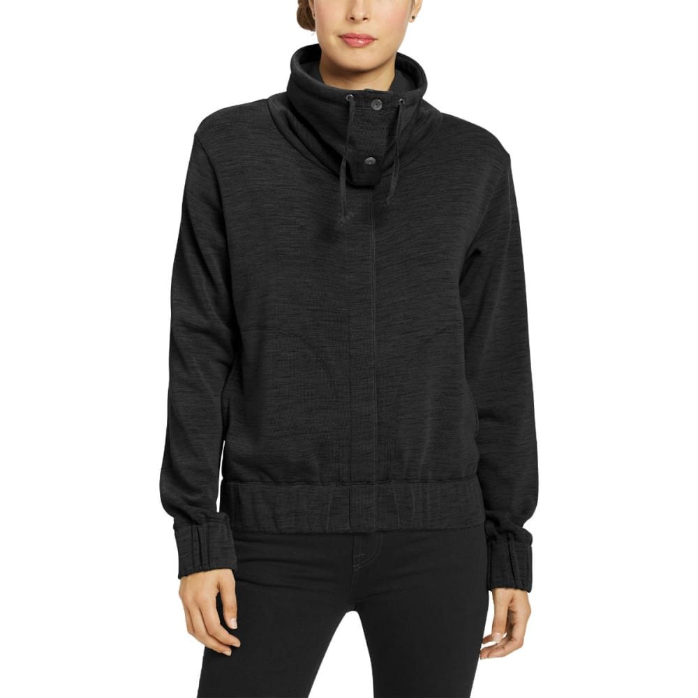 NAU Women's Randygoat Jacket - CAVIAR HEATHER