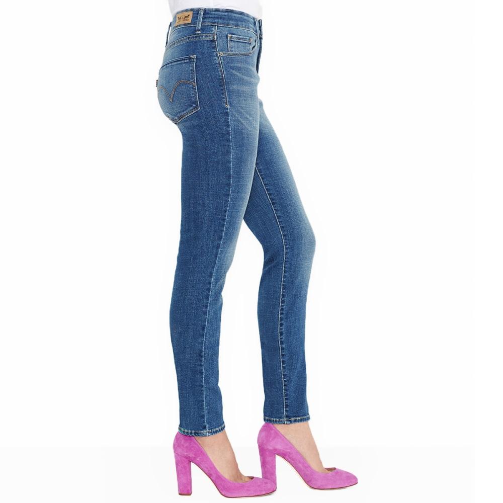 LEVIS Women's Mid Rise Skinny Jeans, Long Length - 0118-BLUE DREAM