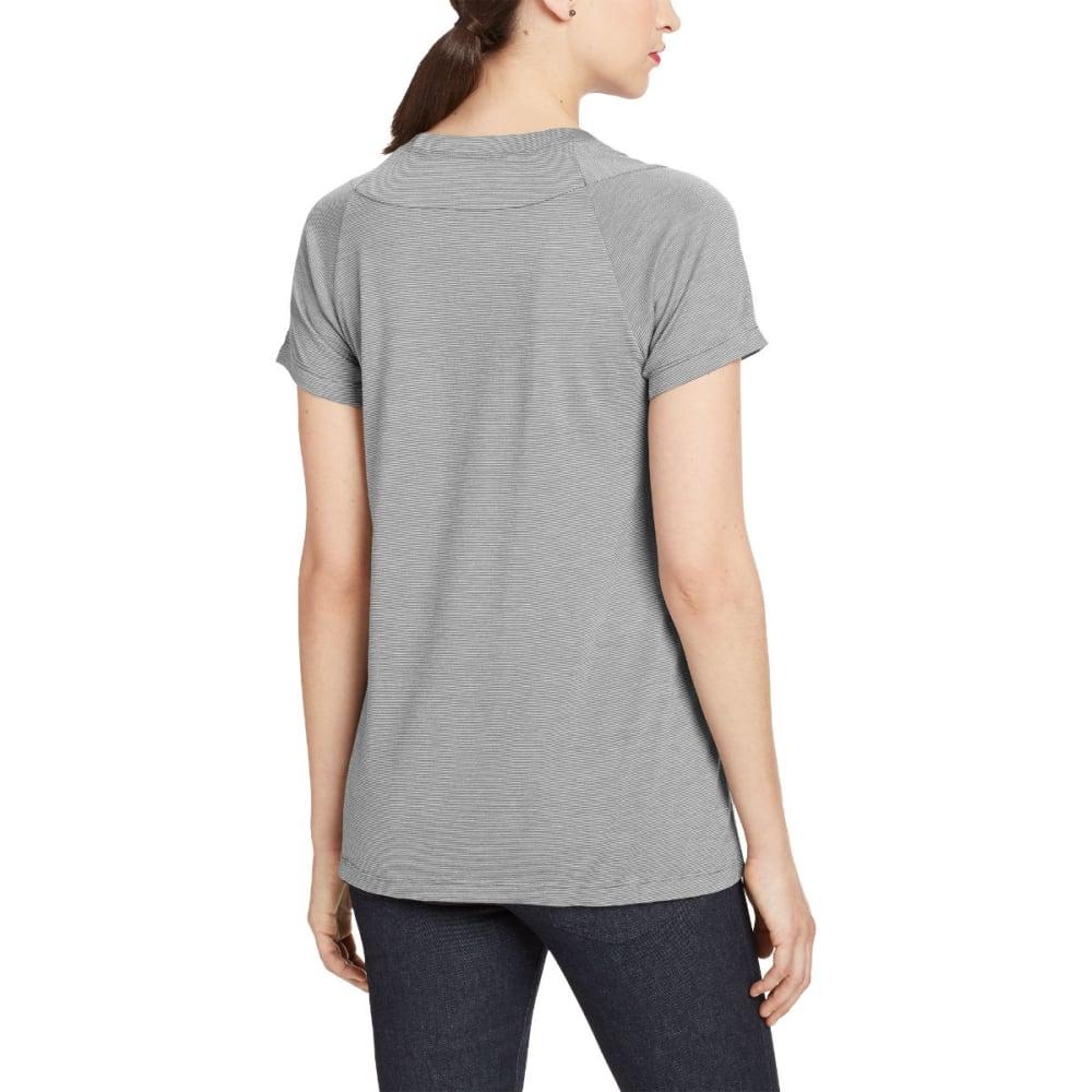 NAU Women's M2 Short-Sleeve Top - CAPE STRIPE