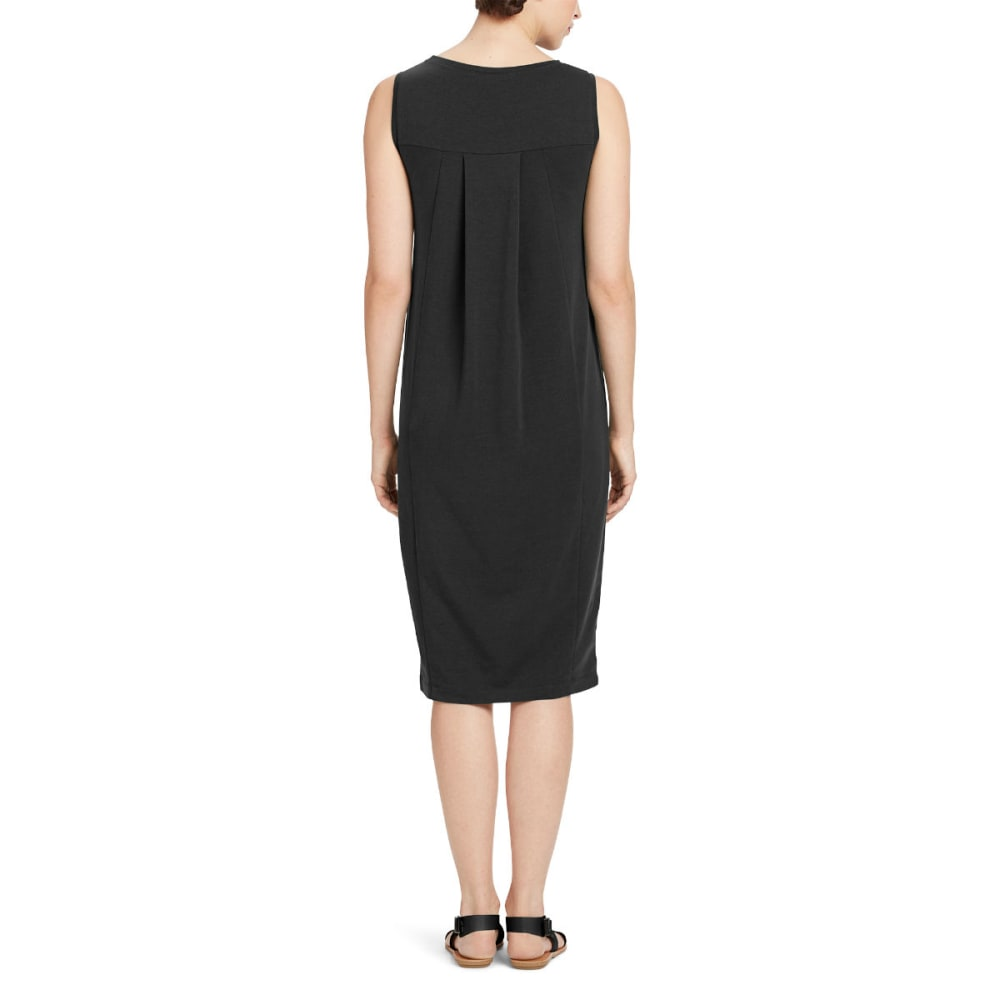NAU Women's Elementerry Sleeveless Dress - CAVIAR