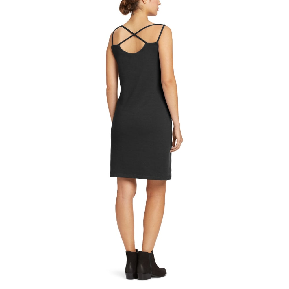 NAU Women's Dinamic Sleeveless Dress - CAVIAR