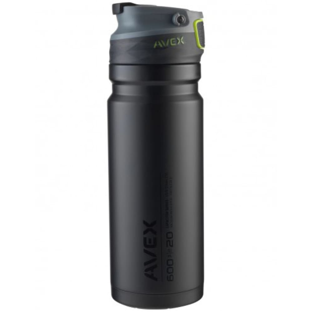 AVEX ReCharge Autoseal® Stainless Steel Travel Mug - BLACK