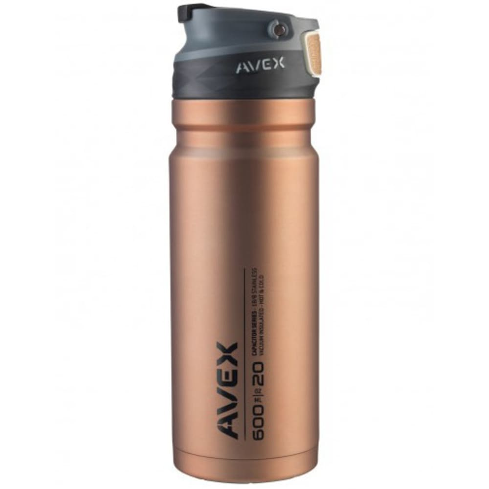 AVEX ReCharge Autoseal® Stainless Steel Travel Mug - COPPER
