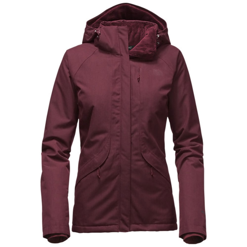 THE NORTH FACE Women's Inlux Insulated Jacket - DEEP GARNET-HJM
