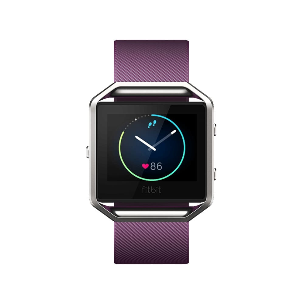 FITBIT Blaze Fitness Watch - Plum, Large - PLUM
