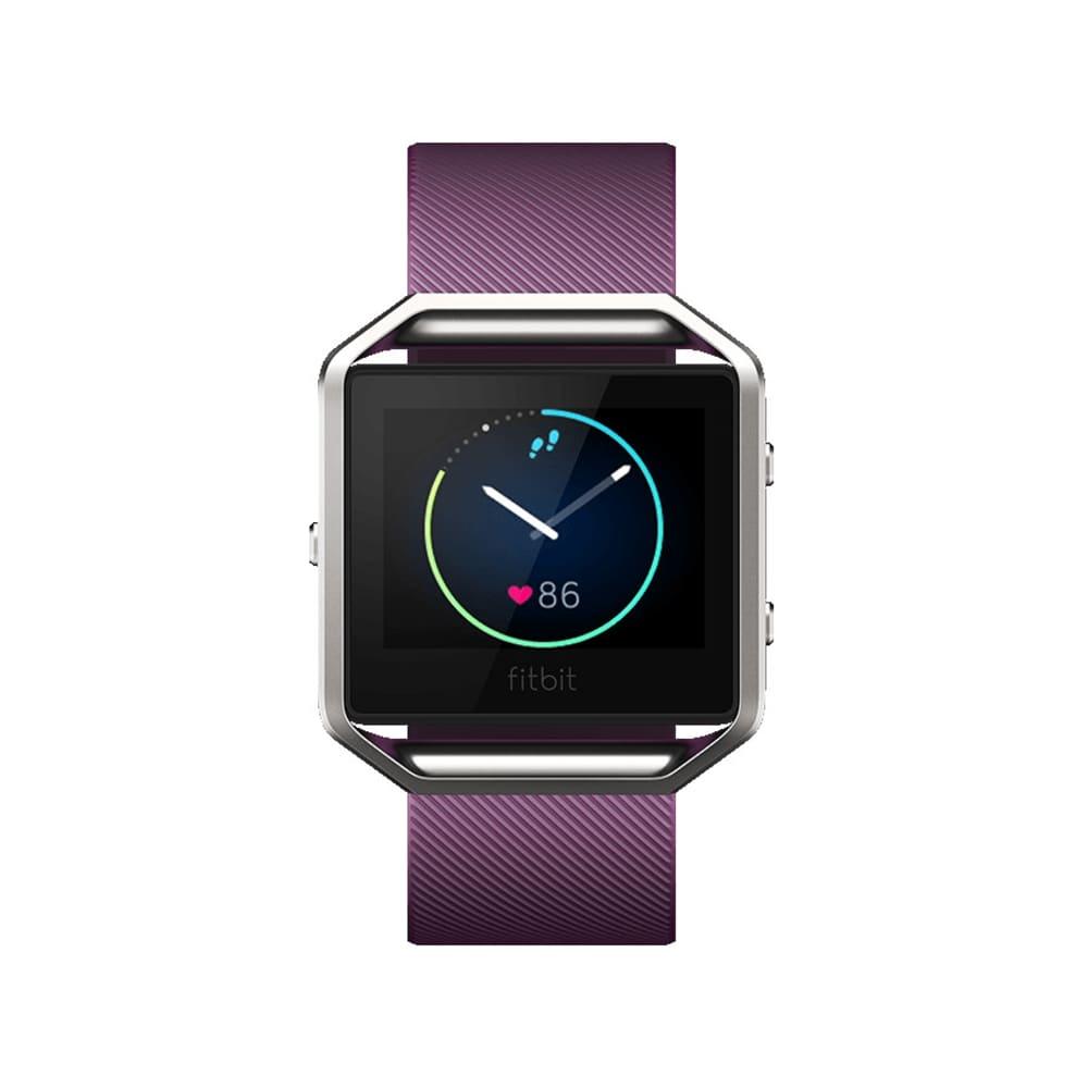 FITBIT Blaze Fitness Watch - Plum, Large - PLUM