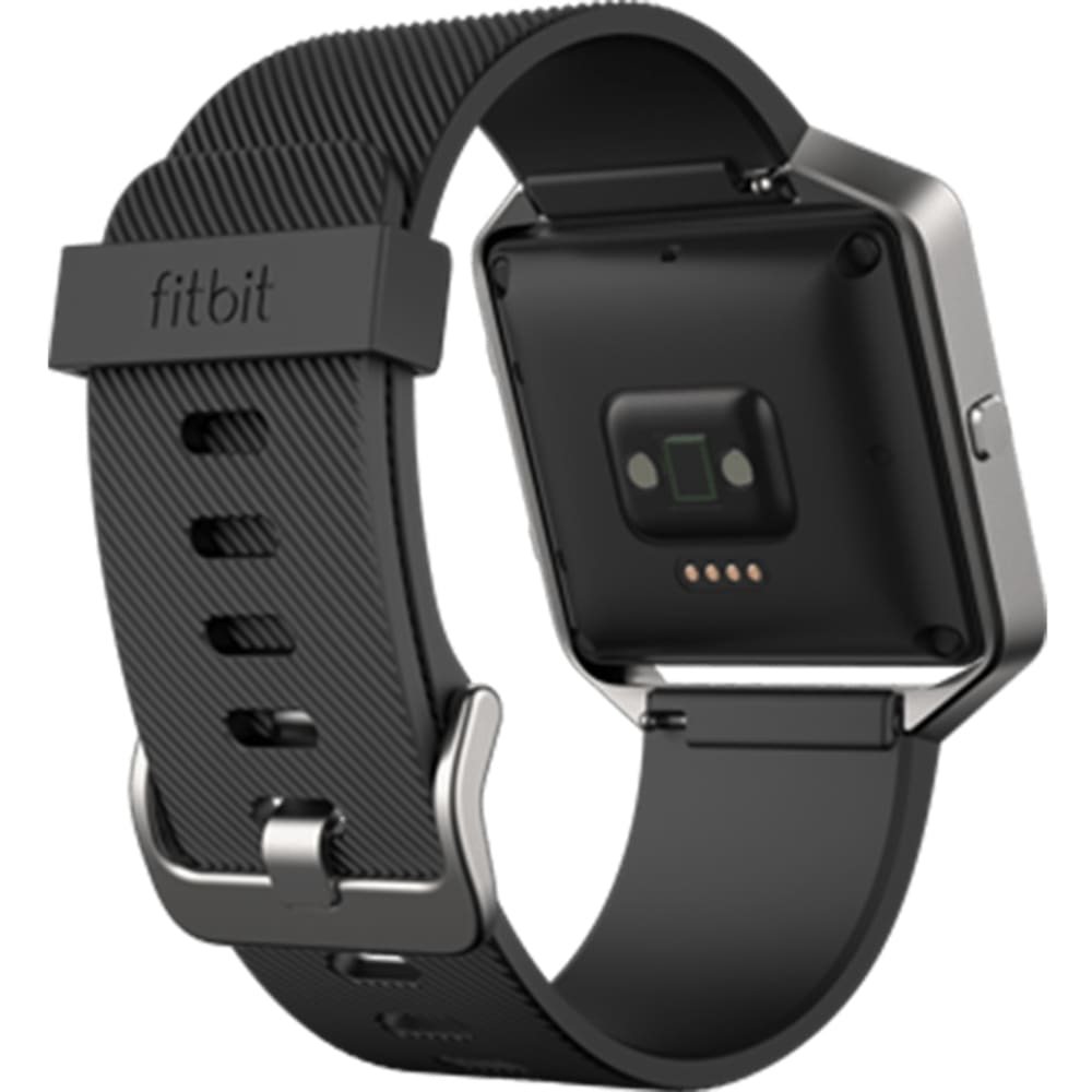 FITBIT Blaze Classic Accessory Band - Black, Large - BLACK