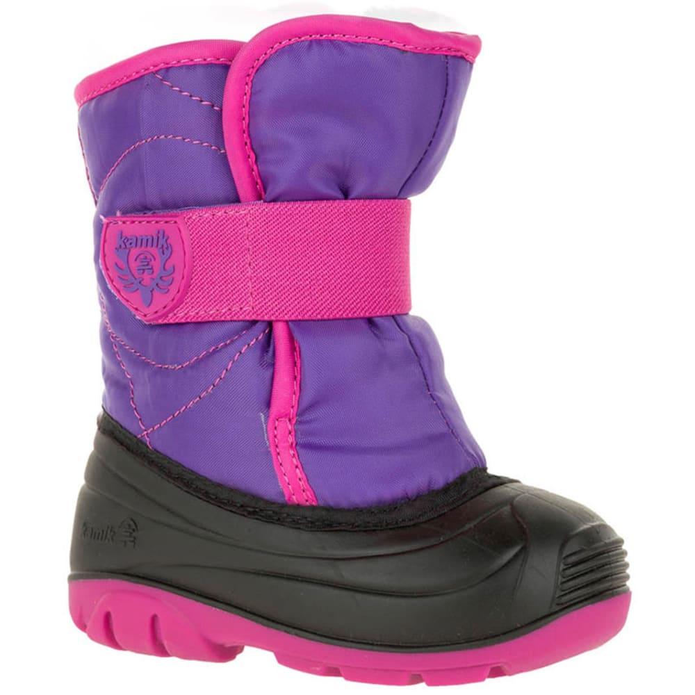 KAMIK Girls' Snowbug 3 Winter Boots - PURPLE