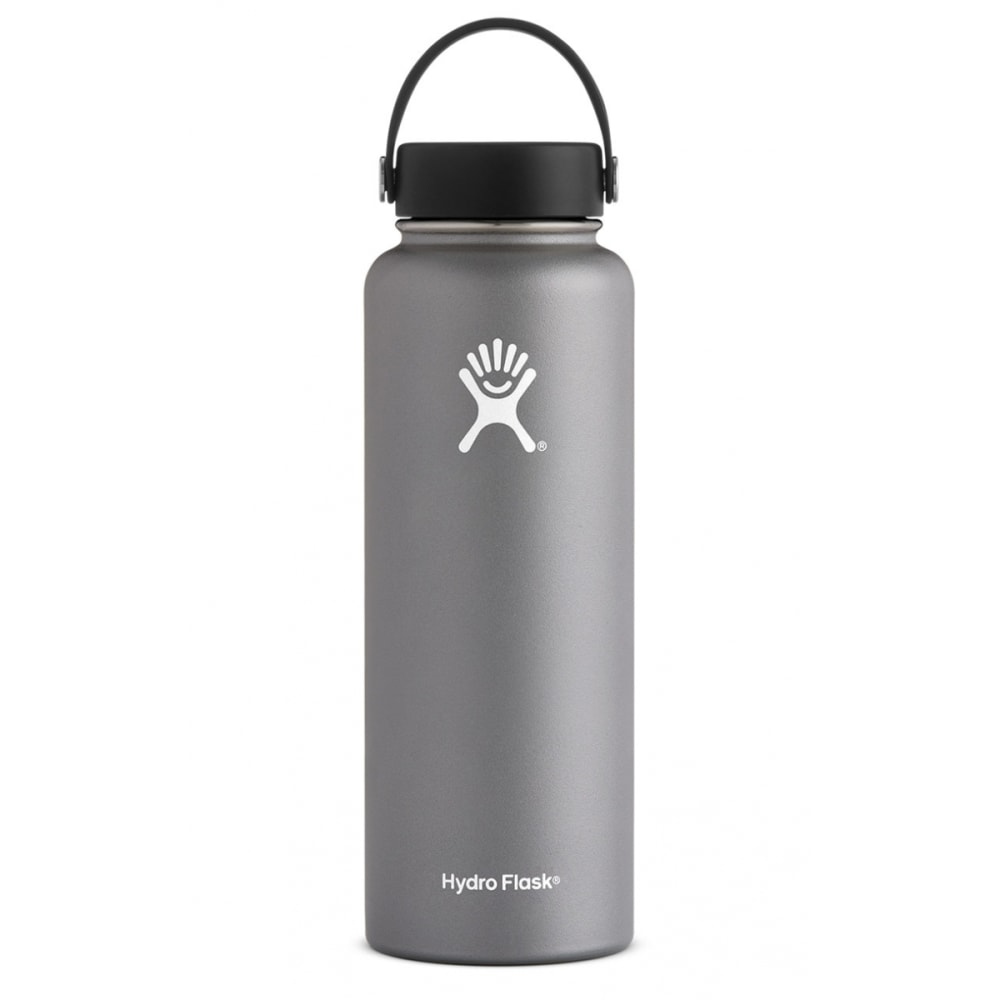 HYDRO FLASK 40 oz. Wide Mouth Water Bottle - GRAPHITE