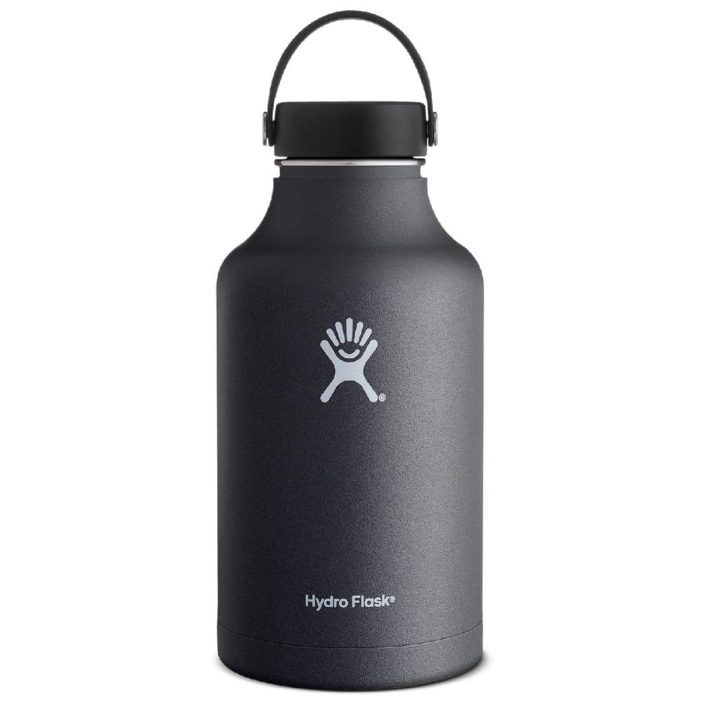 HYDRO FLASK 64 OZ Wide Mouth Water Bottle, Black - BLACK