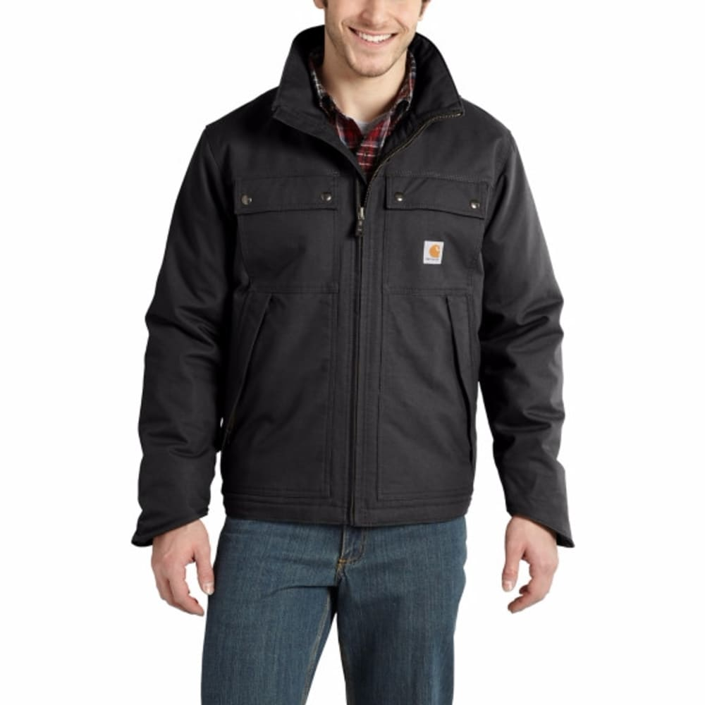 CARHARTT Men's Quick Duck Jefferson Traditional Jacket - BLACK 001