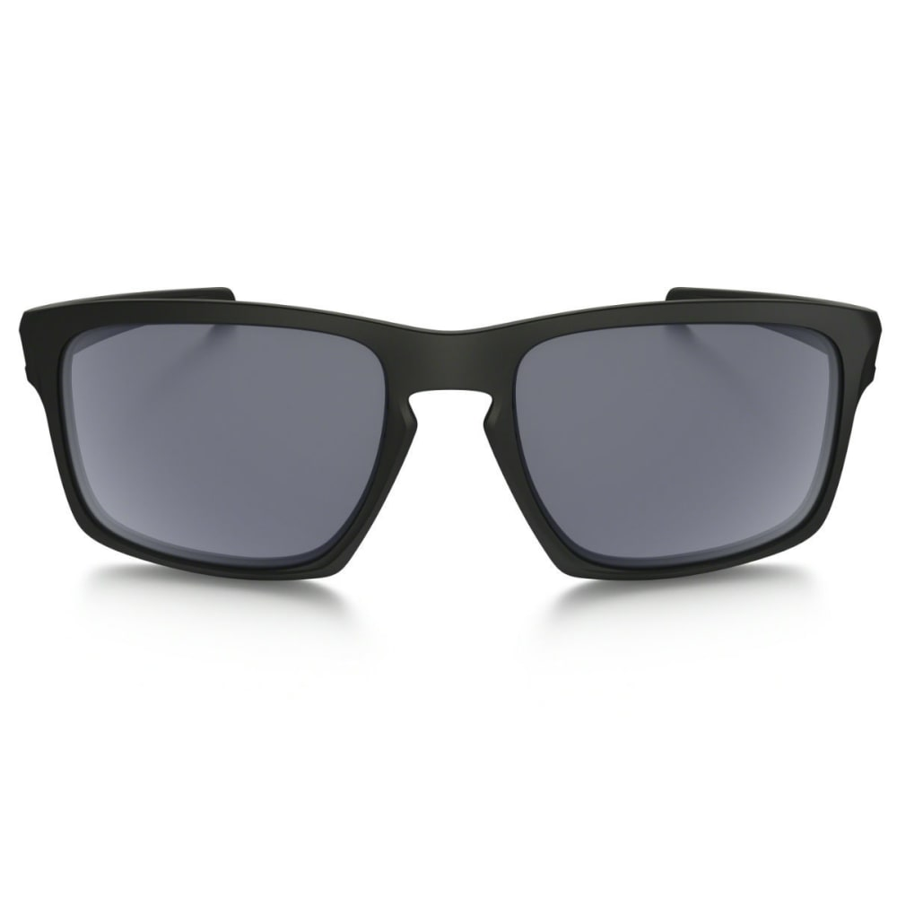 OAKLEY Sliver Sunglasses - MATTE BLACK/GREY