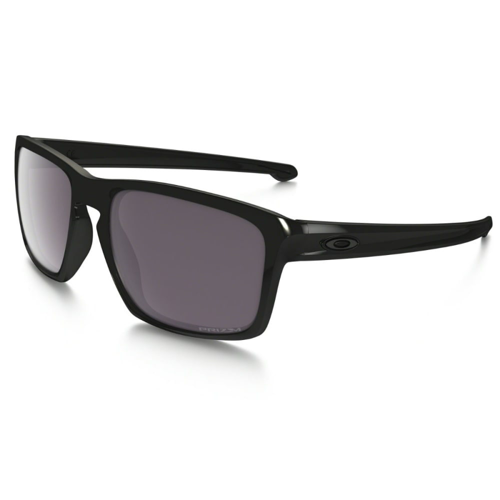 Oakley Sliver Prizm Daily Polarized Sunglasses - Black