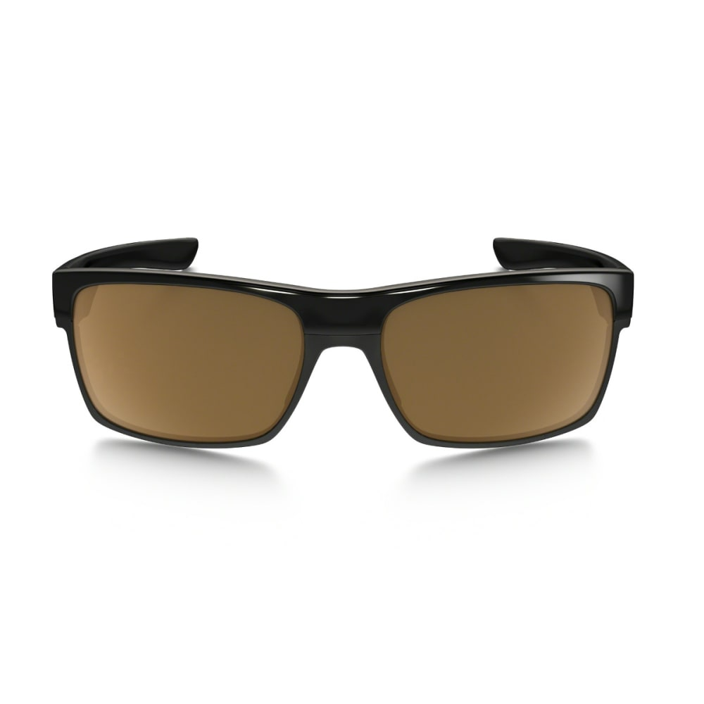 OAKLEY TwoFace Sunglasses Polished Black w/ Dark Bronze - POL BLK W/DK BRONZE