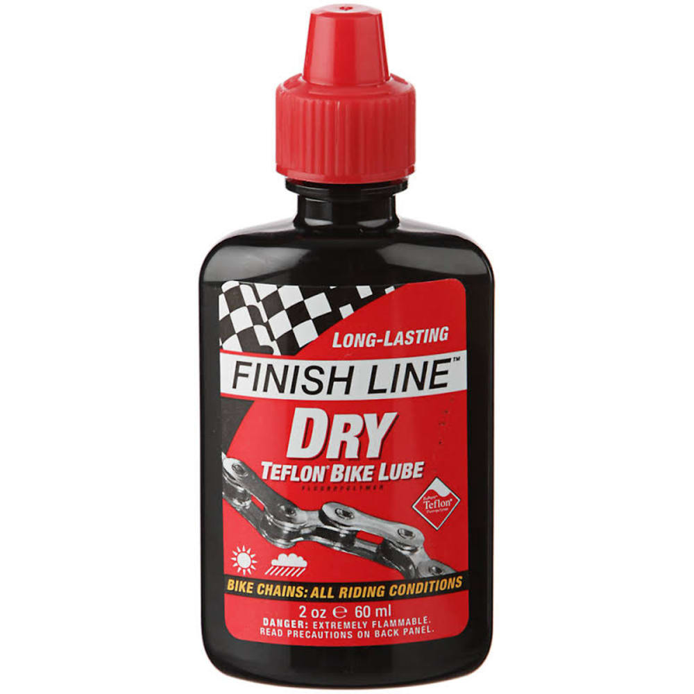 FINISH LINE Dry Teflon Lube 2 oz. - NO COLOR