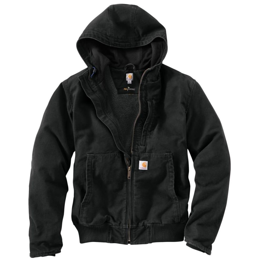 CARHARTT Men's Full-Swing Armstrong Active Hooded Jacket - 001 BLACK