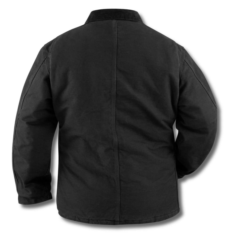 ef101ce3358 CARHARTT Men's Sandstone Traditional Arctic Quilt-lined Coat - BLACK