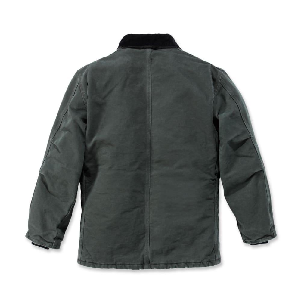CARHARTT Men's Sandstone Traditional Arctic Quilt-lined Coat - MOSS
