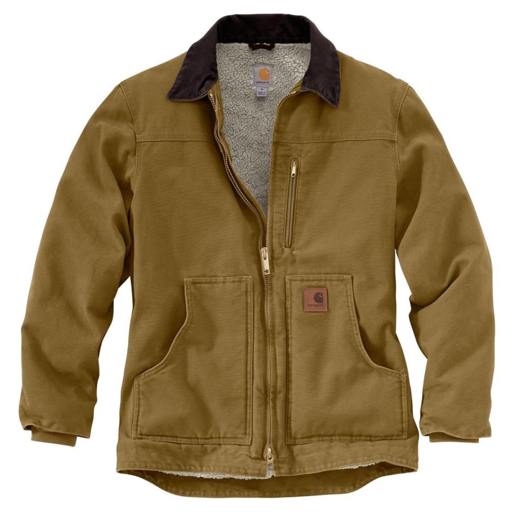 CARHARTT Men's Sandstone Ridge Coat - FRONTIER BROWN